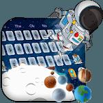 3D Spaceman👨🚀 Galaxy Gravity Keyboard Theme🚀 icon