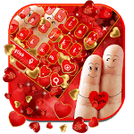 Cute Romantic Love Gravity keyboard Theme icon