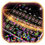 3D Live Colorful Paper Keyboard icon