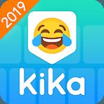 Kika Keyboard 2019 - Emoji Keyboard, Emoticon, GIF for pc logo