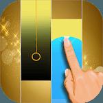 Perfect piano gold: ladybug noir tiles icon
