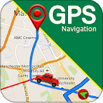 GPS Navigation & Direction - Find Route, Map Guide for pc logo