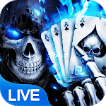 Poker Skull Live Wallpaper icon