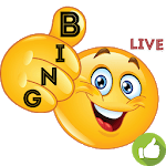Bingo on Money with Smile icon