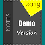 MemoryAid: iNotebook, iDiary and iWriter 2019 Demo icon