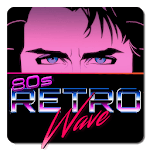 Retrowave Wallpapers - Live Wallpapers,GIF & Radio icon