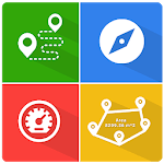 GPS, Tools - Maps, Measure, Explore icon