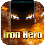 Iron Hero Live Wallpaper for Free for pc logo
