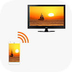 Phone to TV Screen - Screen Mirroring TV for pc logo