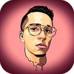 Photo effects and cartoon editor icon