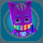 coloring book pj-masks for pc logo