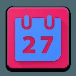 EZ calendar for kids icon
