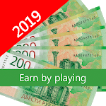 Games with money. How to earn money. Win icon