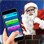 Fake SMS Santa Joke icon