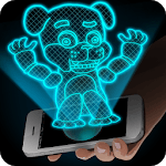 Hologram Fred 3D Simulator icon