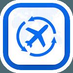 Last Minute Flight Booking App icon