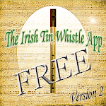 Free Irish Tin Whistle App V2 icon