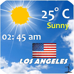 Los Angeles weather icon