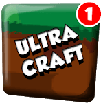 UltraCraft : Survival Crafting Story for pc logo
