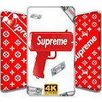 Wallpaper for Supreme Fan Ringtone Hyperbeat free icon