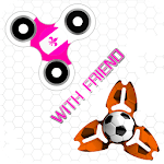 Fidget Spinner Battle With Friends for pc logo