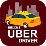 Become Taxi Uber Driver icon
