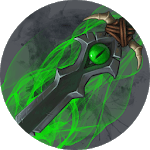 How to draw weapons - daggers (WoW) icon