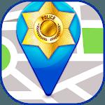 Police locator icon