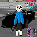 Sans Stickman Rope Hero Simulator for pc logo