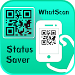 Status Saver and WhatsScan QR Scanner icon