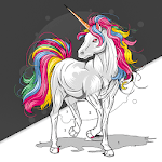 Unicorn - Paint by Numbers icon