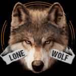 Lone Wolf Wallpaper and Custom Keyboard icon