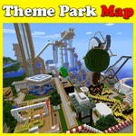 Theme Park maps for MCPE icon