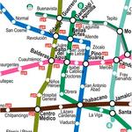 Mexico City Metro Map Offline icon