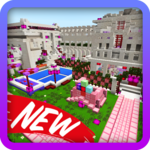 New Pink House Kawaii. Map for MCPE icon