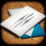 business card maker & designer icon