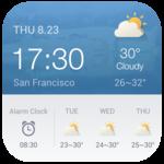 Alarm Clock Weather Widget icon
