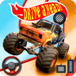 Drive Ahead: Top Monster Truck Stunts racing mtd icon