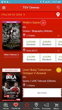 TGV Cinemas pc screenshot 2