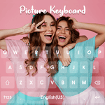 Picture Keyboard-Emoji Keyboard Fonts,GIF,Stickers icon