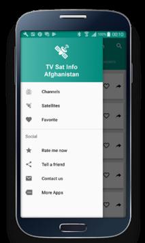 TV Sat Info Afghanistan pc screenshot 1