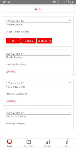 Live Stream for NHL 2021 Season PC screenshot 1
