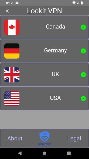 LockIt VPN Free, Fast PC screenshot 2