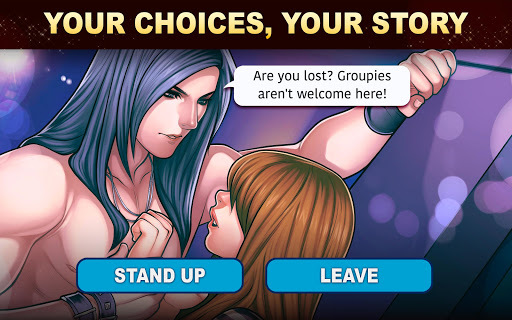 Is-it Love? Colin: Choose your story - Love & Rock pc screenshot 1