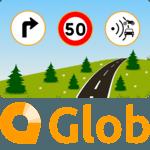 Glob - GPS, Traffic, Radar & Speed Limits icon