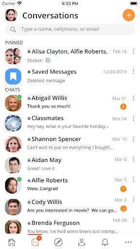 SafeChat — Secure Chat & Share pc screenshot 1