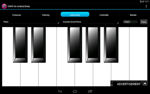 VMPK for Android Free pc screenshot 1