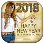 New Year Photo Frame 2019 for pc logo