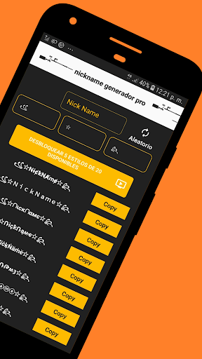 💎 Free & Fire Name Style App - Nickname Generator pc screenshot 1