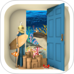Escape Game: Marine Blue icon